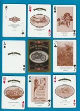 Collectible playing cards Harley Davidson motorbikes